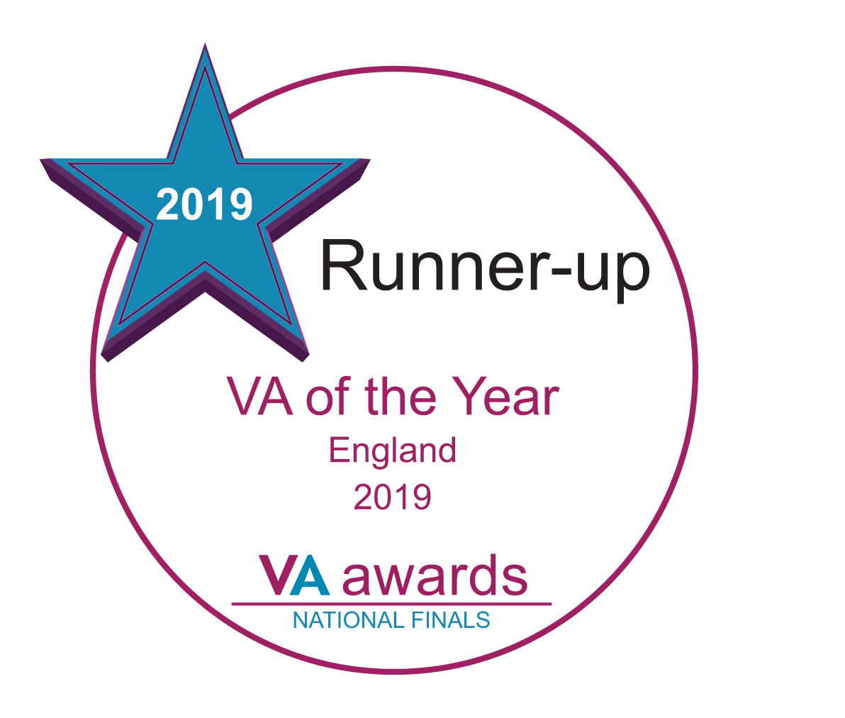 VA of the year England 2019 - runner up