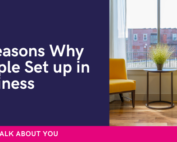 Why people set up in business