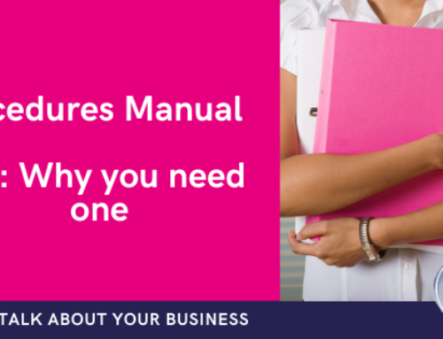 Why your business needs a procedures manual