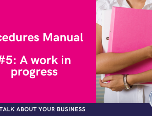 Why your business processes manual is a work in progress