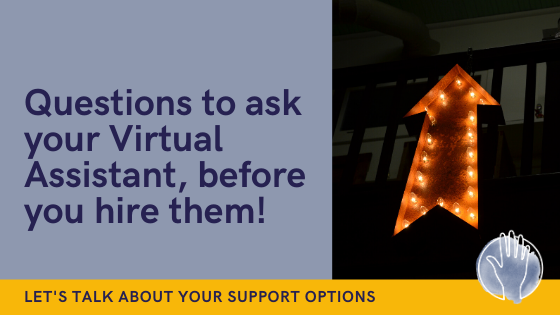 questions to ask your virtual assistant