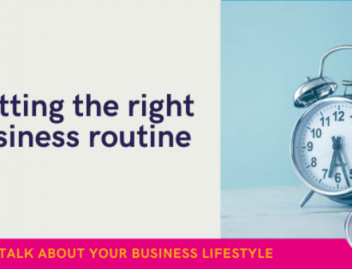 Business owners: How to get the right routine for you