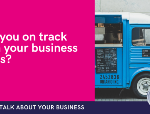 Are you on track with your business goals?