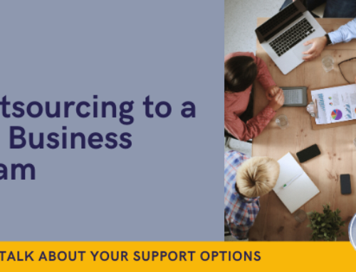 Outsourcing to a VA Business Team