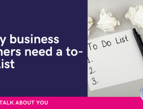 Why business owners need a to-do list