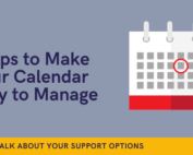 calendar easier to manage