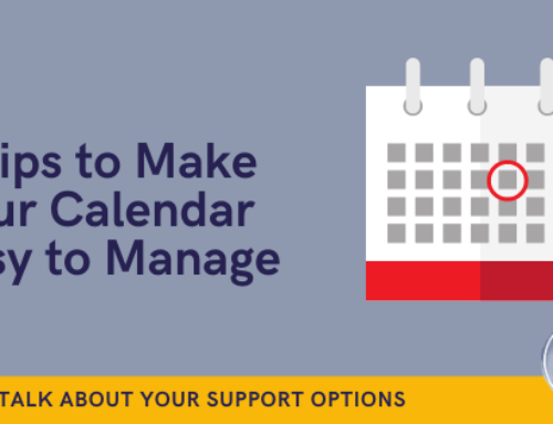 5 tips to make your calendar easier to manage