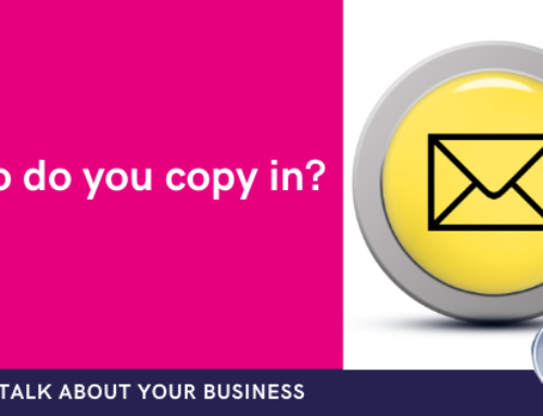 Are you copied into emails too much within your business?