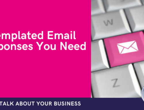 The 5 templated email responses you need