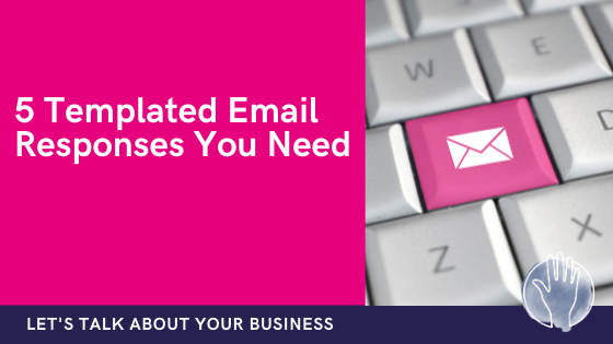 templated inbox email responses