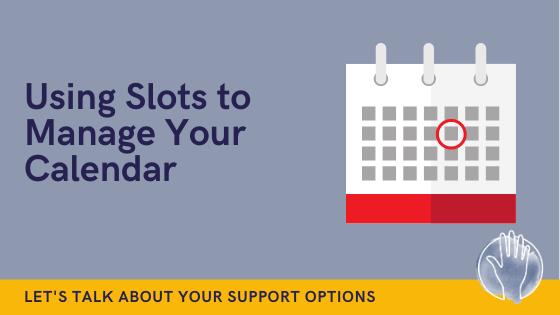 organise your calendar