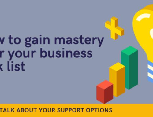 Business task list mastery